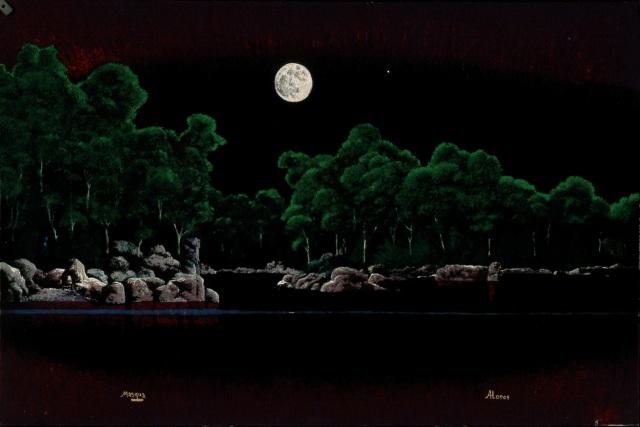 Moonrise - 61x91 cm