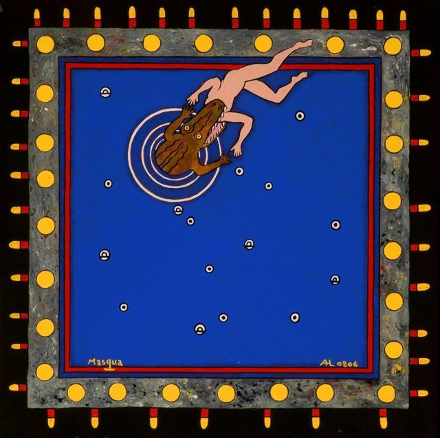 Nazca Sorcerer - 61x61 cm