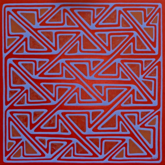 Domnach Airgid border - Maze
