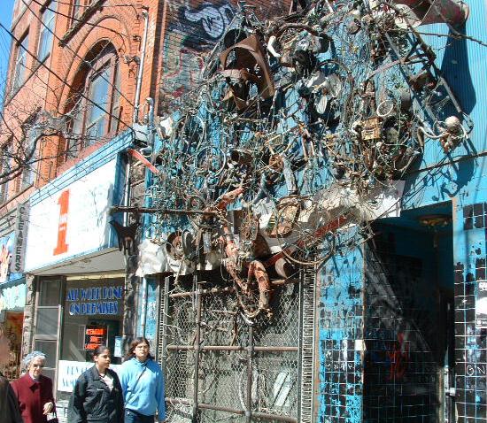 Queen Street West, Toronto - 10 years ago
