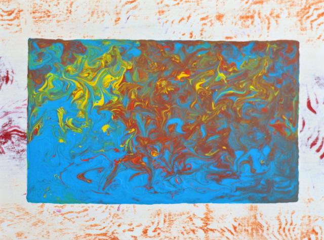 Triptych in a Maze