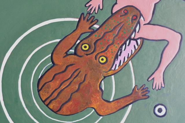 Nazca Sorcerer - Detail